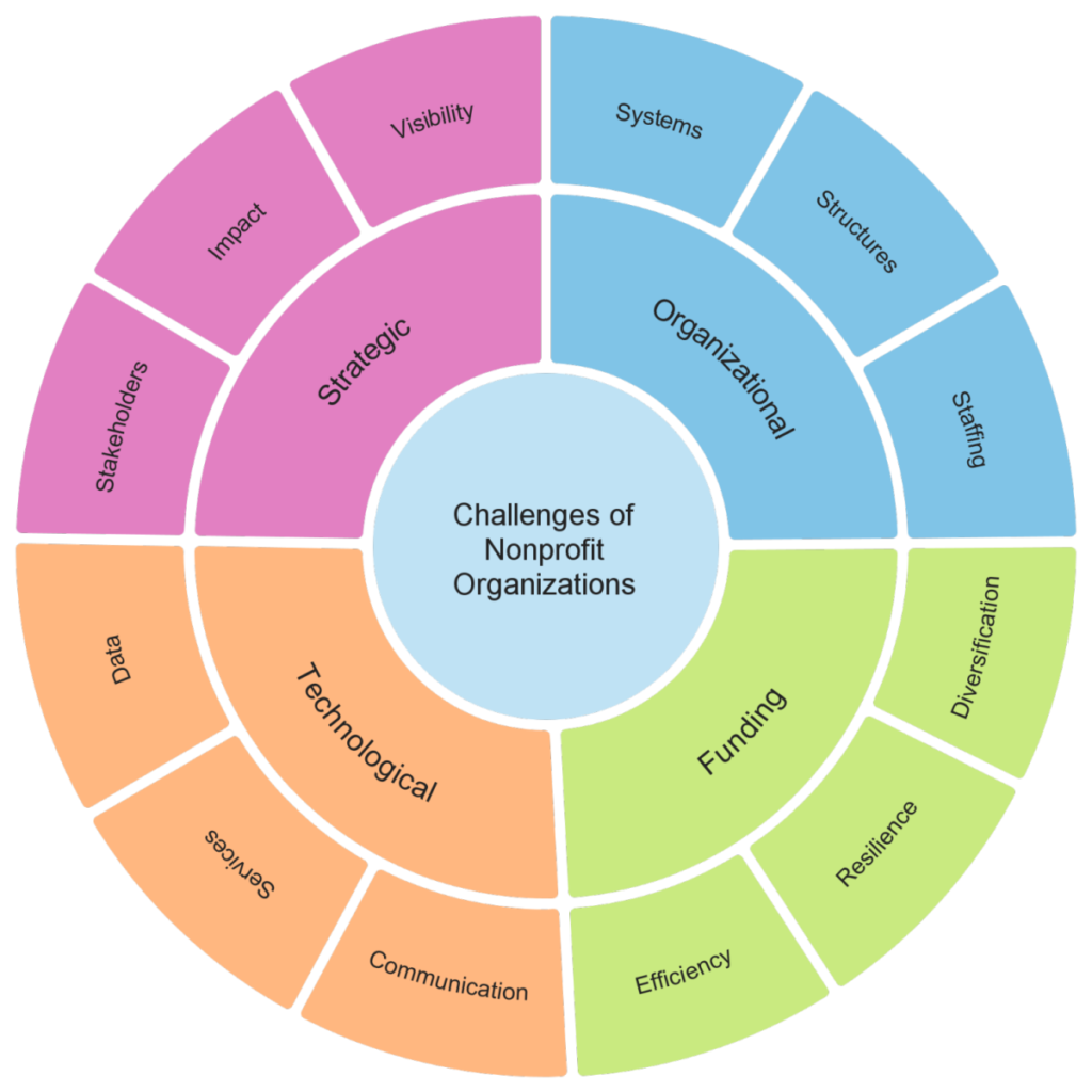 diagram-challenges-of-nonprofit-organizations-Horizon Global Academy